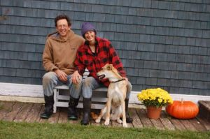 Will Pedersen and Alyson Chisholm, NB Organic Farmers and 2013 Grow A Farmer Apprentice Hosts