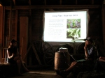 This photo was taken during the Crop Planning 101 workshop at Broadfork Farm, NS