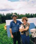 Murray and Carolyn of Bunnett Family Farm in beautiful Steeves Settlement, NB.