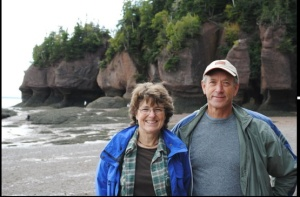 Karen and Brock Davidge, NB Organic Farmers and 2013 Grow A Farmer Apprentice Hosts