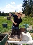 Katherine McCord of Bantry Bay Farm, St. Andrews, NB.