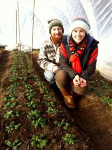 Shannon Jones and Bryan Dyck, 2013 Grow A Farmer Apprentice Hosts